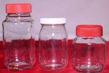 Frascos para coleta e acondicionamento do leite humano
