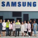 Posto de Coleta de Leite Humano na Samsung Manaus